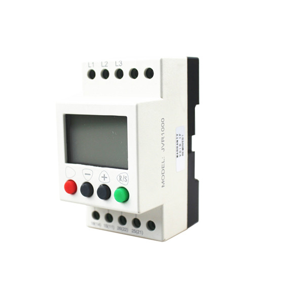 JVR1000 Multifunction 3-phase Sequence Protection Relay With Counting and Timing for Industrial Use