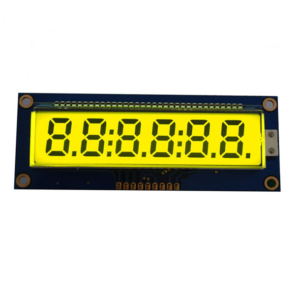 custom Segment 6-digit lcd display