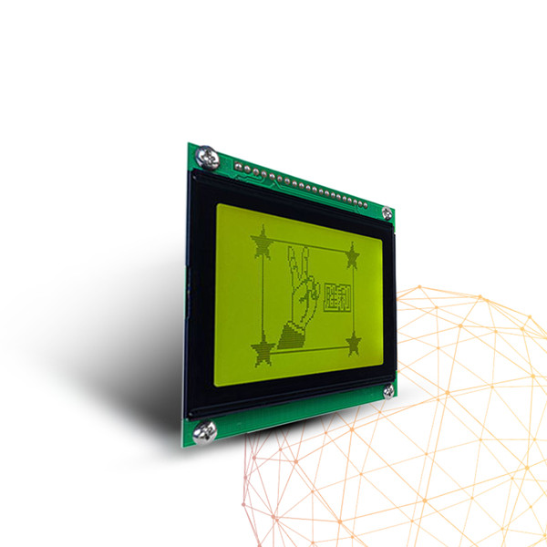 12864 128x 64 5 inch lcd panel |graphic monochrome Custom water flow meter lcd | stn LCD display module for flow meter
